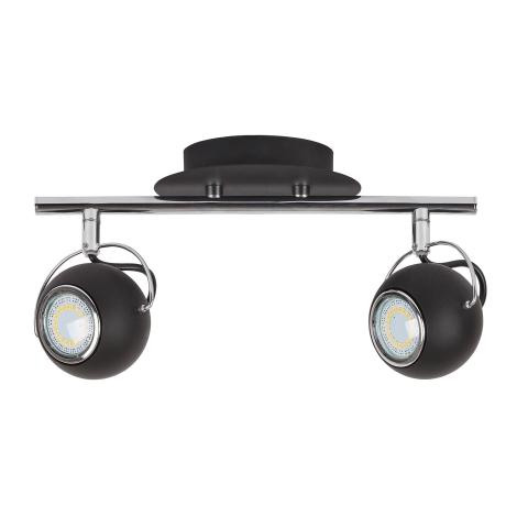 Rabalux 6826 - LED bodové svítidlo BOBBY 2xGU10/4,5W/230V