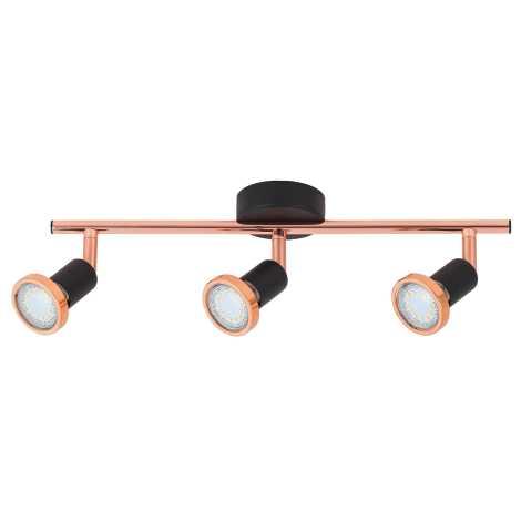 Rabalux 6848 - LED bodové svítidlo VALENTINE 3xGU10/3W/230V