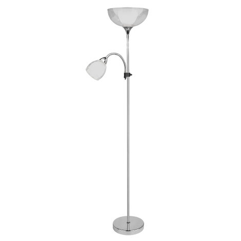 Rabalux 6878 - Stojací lampa DAVE 1xE27G45/60W + E14/40W/230V