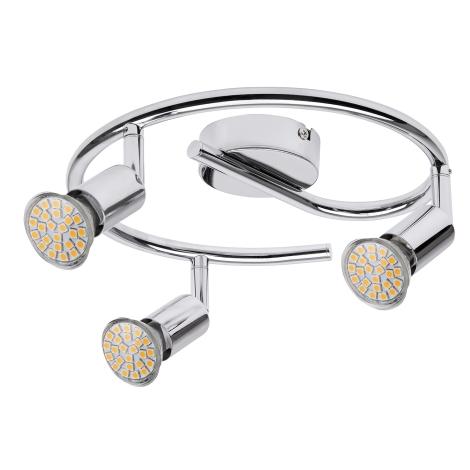 Rabalux 6989 - LED bodové svítidlo NORTON LED 3xGU10/3W/230V