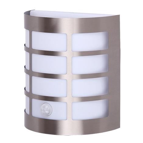 Rabalux 8200 - Venkovní nástěnné svítidlo s čidlem SEVILLA 1xE27/11W/230V