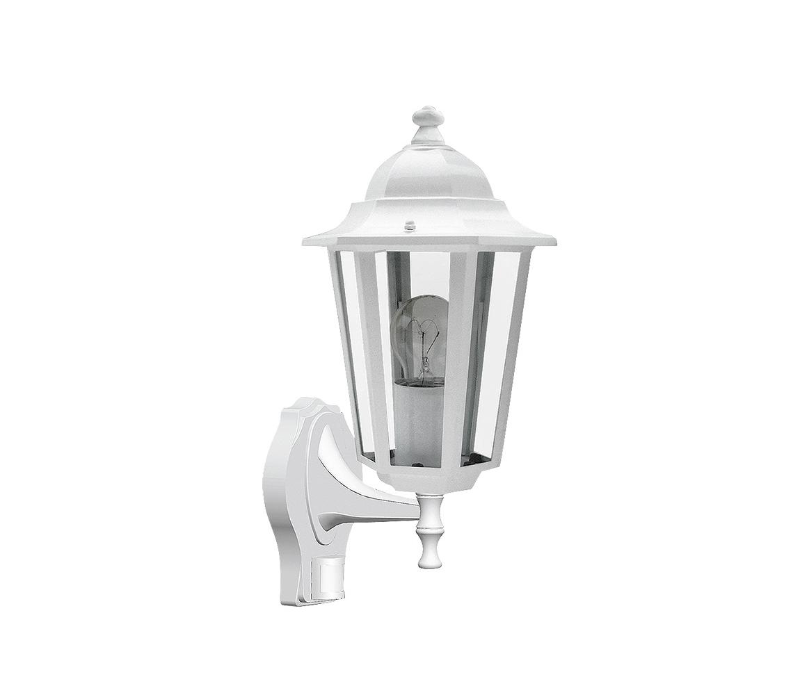 Rabalux Rabalux 8216 - Venkovní nástěnné svítidlo s čidlem VELENCE 1xE27/60W/230V RL8216