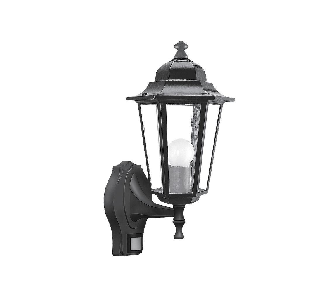 Rabalux Rabalux 8217 - Venkovní nástěnné svítidlo s čidlem VELENCE 1xE27/60W/230V RL8217