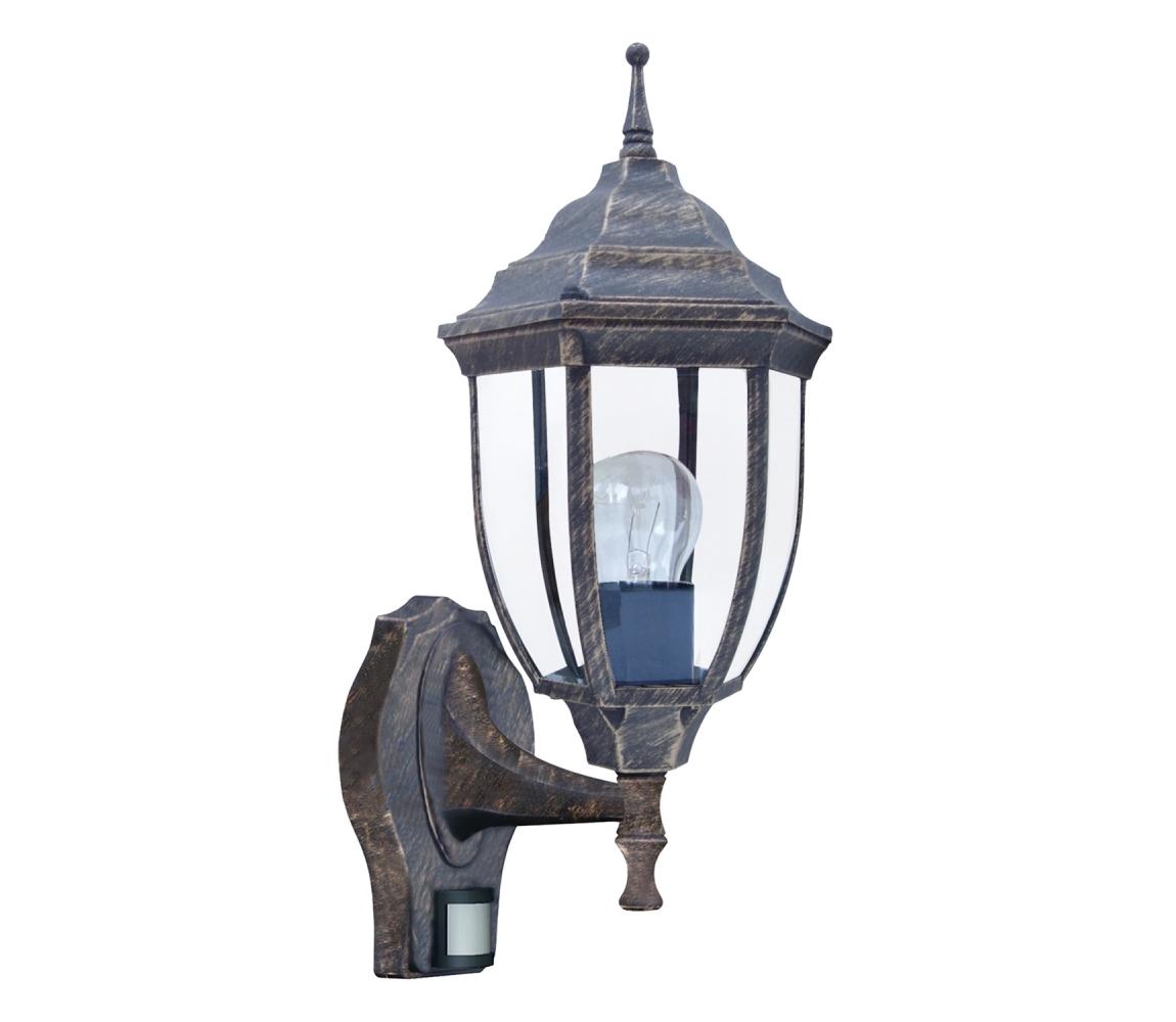 Rabalux Rabalux 8458 - Venkovní svítidlo s čidlem NIZZA 1xE27/60W/230V RL8458