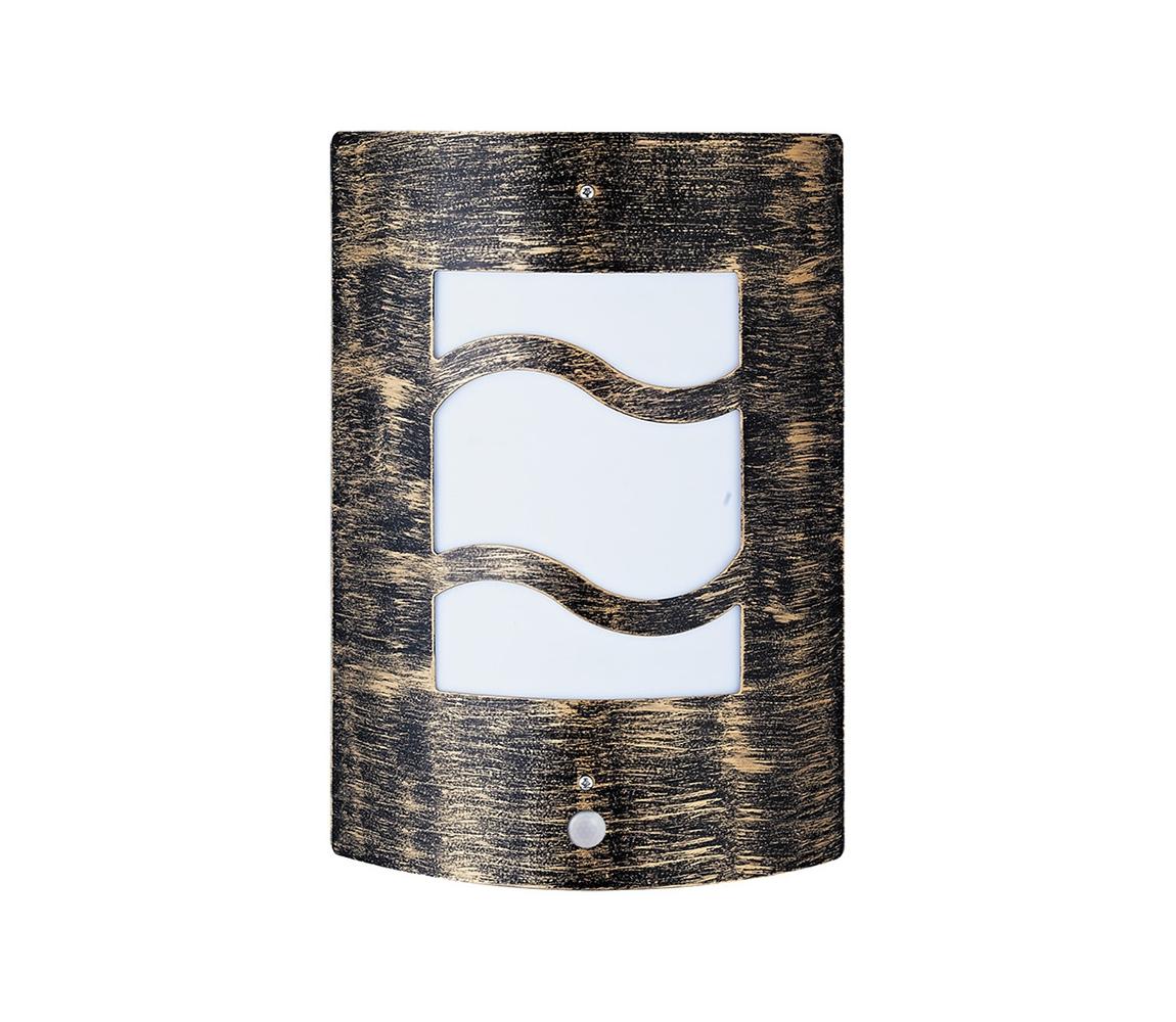 Rabalux Rabalux 8518 - Venkovní nástěnné svítidlo s čidlem DENVER 4 1xE27/60W/230V RL8518