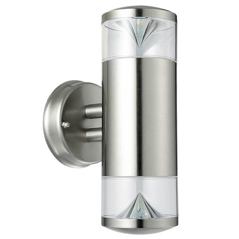 Rabalux 8560 - Venkovní nástěnné svítidlo CHARLOTTE 2xGU10/4,5W/230V