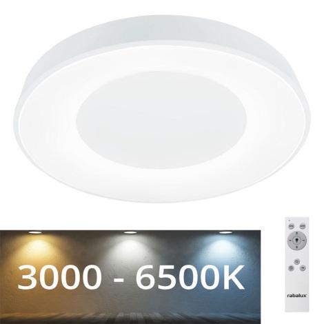 Rabalux - LED Stmívatelné stropní svítidlo LED/38W/230V bílá + DO 3000-6500K