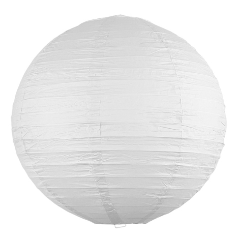 Rabalux - Stínidlo bílá E27 pr. 40 cm