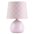 Rabalux - Stolní lampa 1xE14/40W růžová