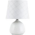 Rabalux - Stolní lampa E14/40W bílá