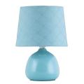 Rabalux - Stolní lampa E14/40W modrá