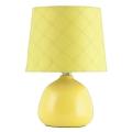 Rabalux - Stolní lampa E14/40W žlutá