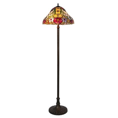 Rabalux - Tiffany stojací lampa 2xE27/60W/230V
