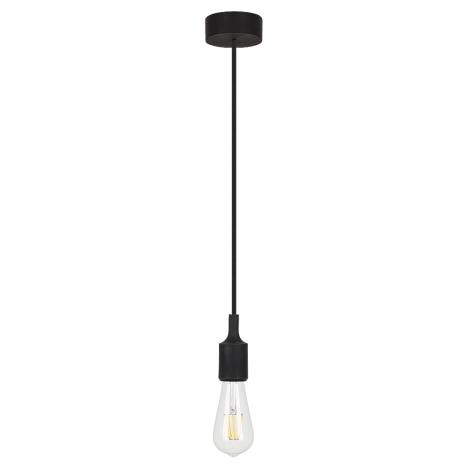 Rabalux - Závěsné svítidlo 1xE27/40W černá