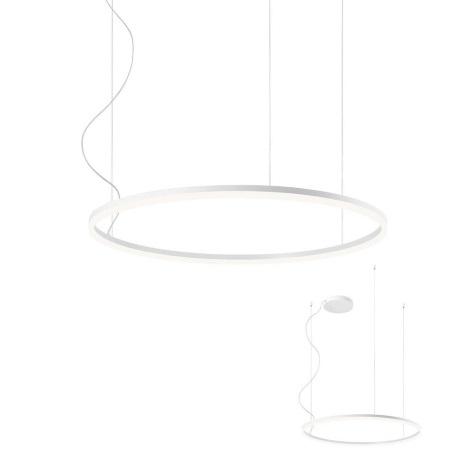 Redo 01-1712 - LED Lustr na lanku ORBIT LED/55W/230V