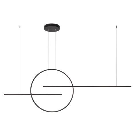 Redo 01-1737 - LED Lustr na lanku GIOTTO LED/66W/230V černá