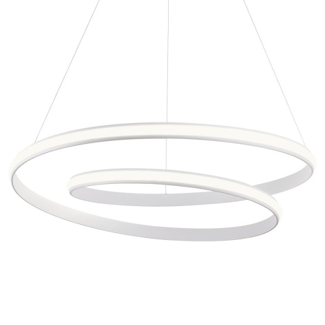 Redo 01-1795 - LED Stmívatelný lustr na lanku TORSION 1xLED/40W/230V