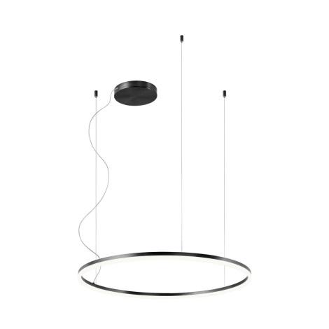 Redo 01-1949 - LED Lustr na lanku ORBIT LED/55W/230V