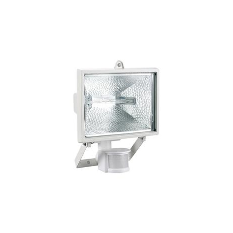 Reflektor halogenový se senzorem TOMI 500 bílá - GXER004