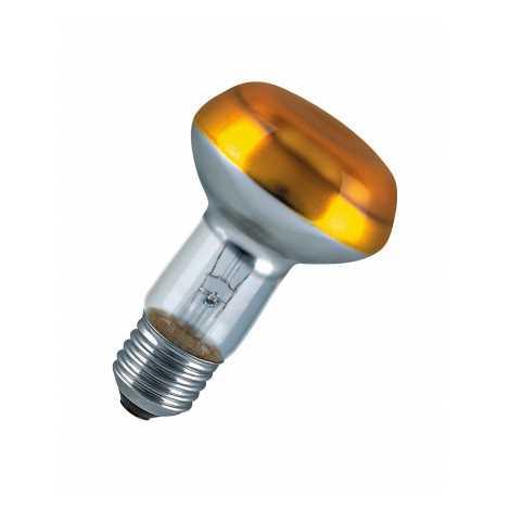 Reflektorová žárovka E27/40W CONC R63 YELLOW