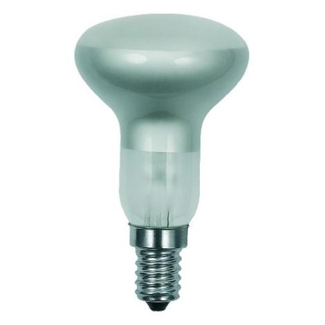 Reflektorová žárovka R50/E14/25W matná
