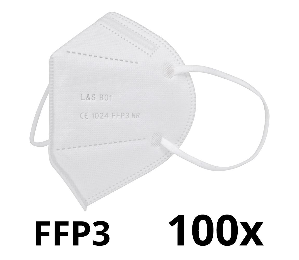 Respirátor FFP3 NR L&S B01