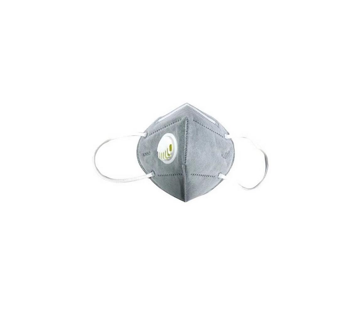 Solight Respirátor s výdechovým ventilem třídy KN95 (FFP2)