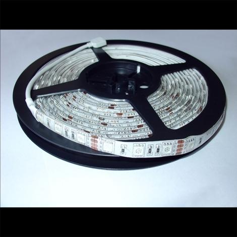 RGB LED pásek 1m barevný - vodotěsný IP65