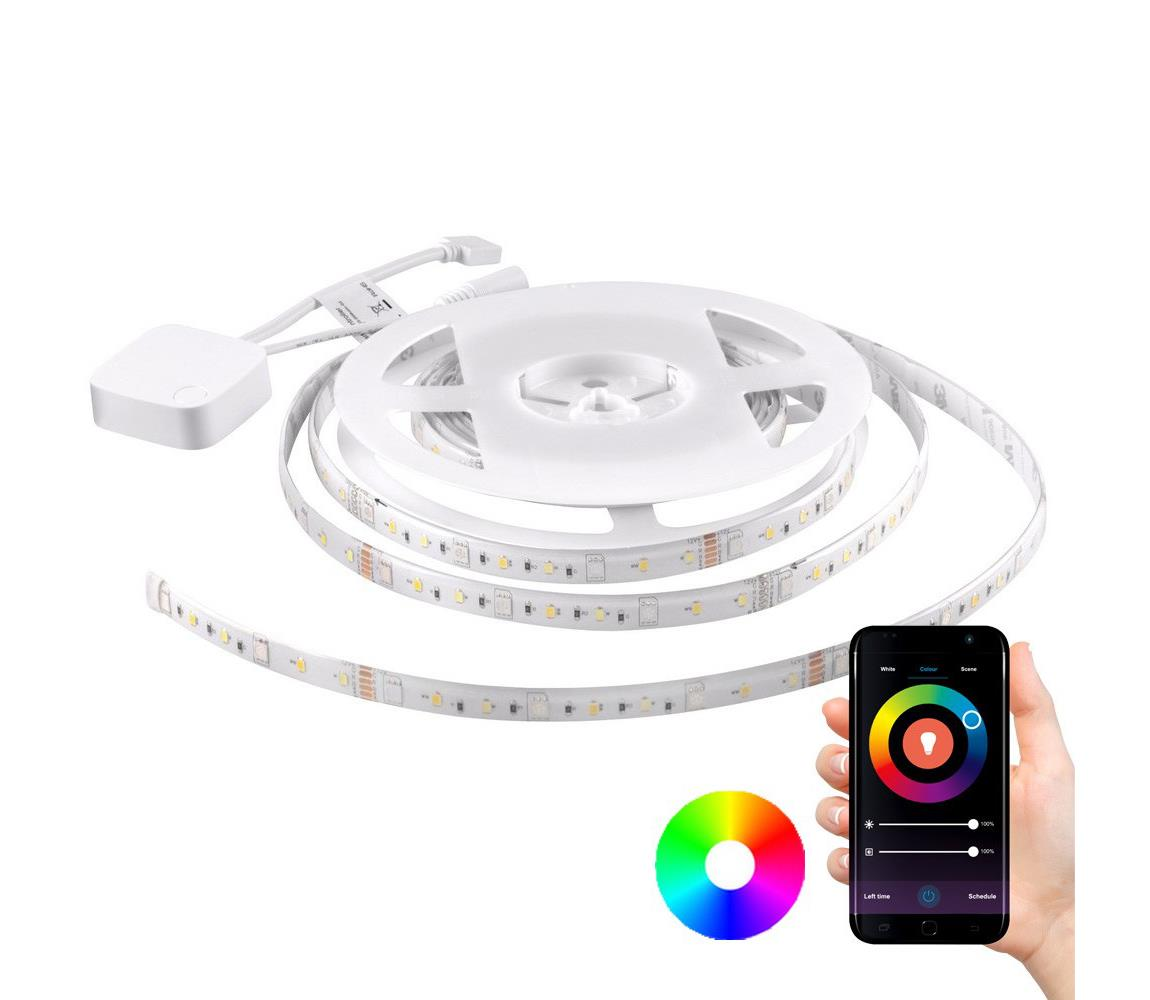 Polux RGB LED Stmívatelný pásek Wi