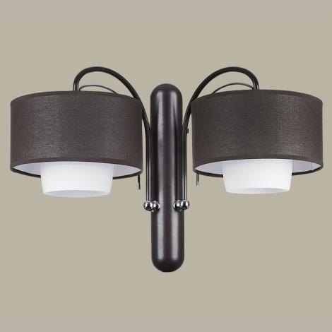 ROMA RO K2 - Nástěnné svítidlo 2xE27/60W/230V