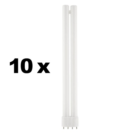SADA 10x kompaktní zářivka 2G11/24W 2700K