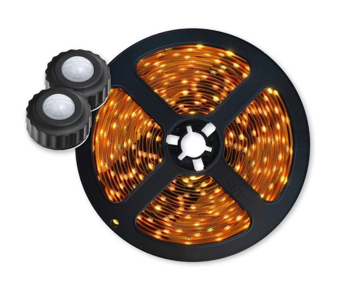 Platinet SADA 2x LED Pásek 1,5 m + senzor 2xLED/7,2W/230V PL0151