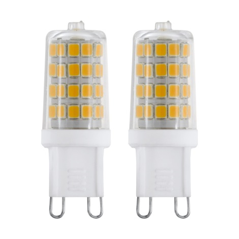 SADA 2x LED Žárovka G9/3W/230V 4000K - Eglo 11675