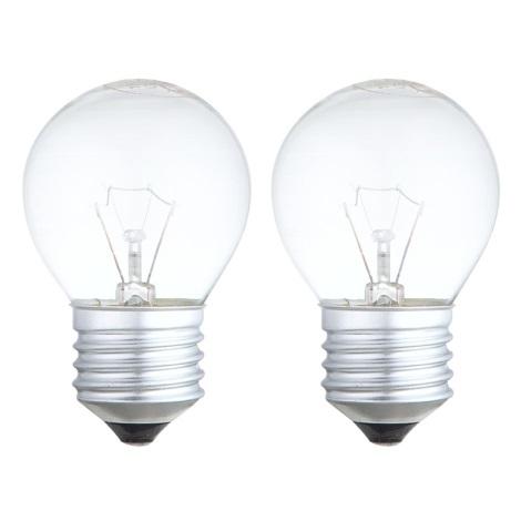 SADA 2x Stmívatelná žárovka E27/40W/230V