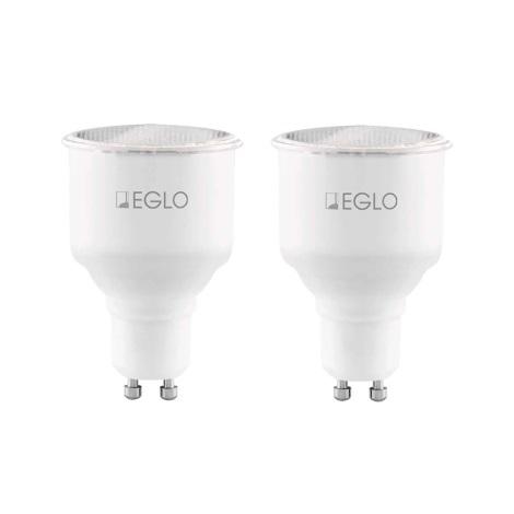 SADA 2x Úsporná žárovka GU10/7W/230V - Eglo 12125