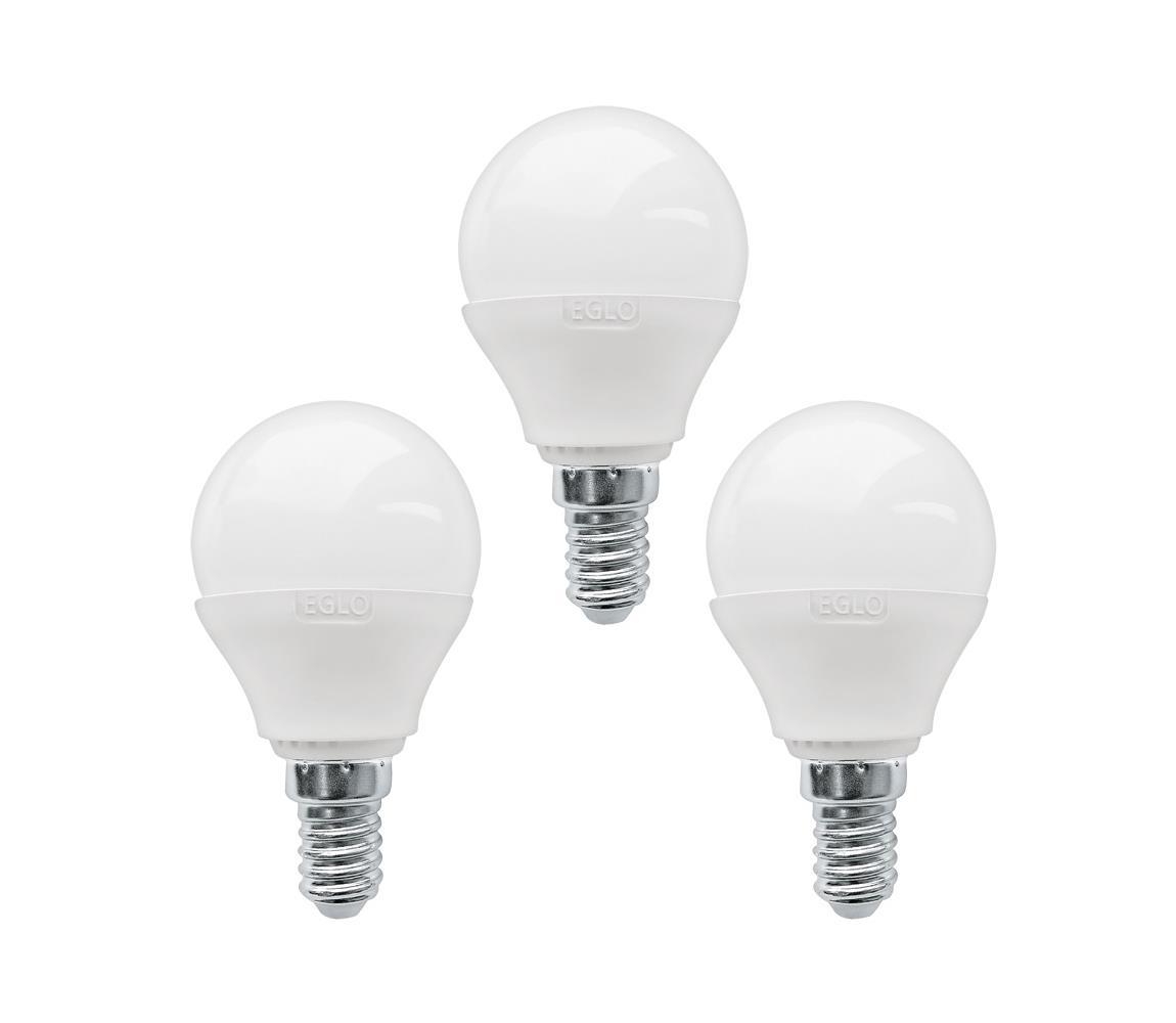 Eglo SADA 3x LED žárovka E14/3W/230V