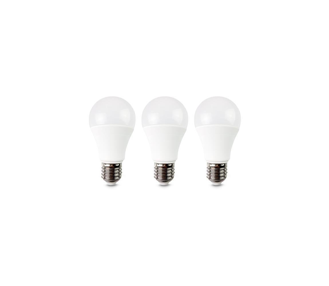 Solight žárovka LED E27 10W A60 bílá teplá ECOLUX