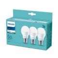 Sada 3x LED Žárovka Philips E27/7W/230V 3000K
