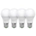 SADA 4x LED Žárovka ECOLINE A60 E27/10W/230V 4000K - Brilagi