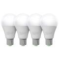 SADA 4x LED Žárovka ECOLINE A65 E27/15W/230V 4000K - Brilagi