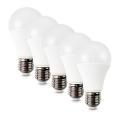SADA 5x LED Žárovka E27/10W/230V