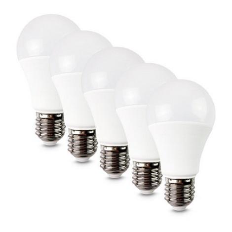 SADA 5x LED Žárovka E27/12W/230V