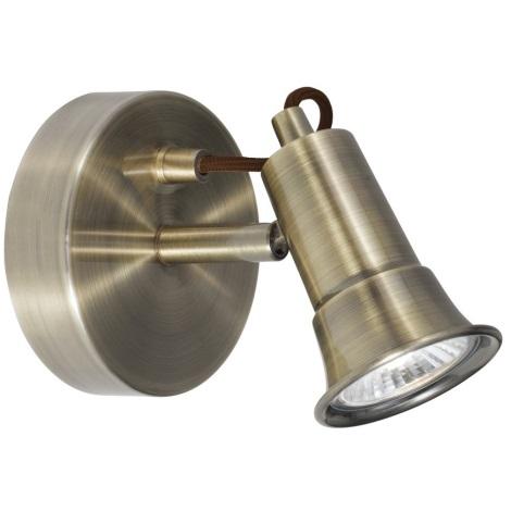 Searchlight - Nástěnné bodové svítidlo EROS 1xGU10/50W/230V