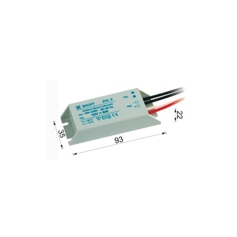Skoff - Transformátor pro LED svítidla TANGO 6W/230V/10V DC