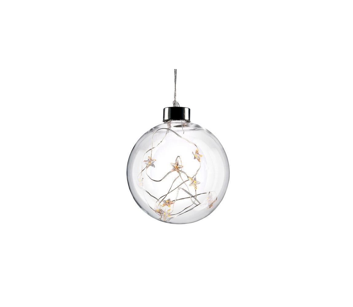 Solight Solight 1V204 - LED Vánoční koule 10xLED/2xAA SL0501