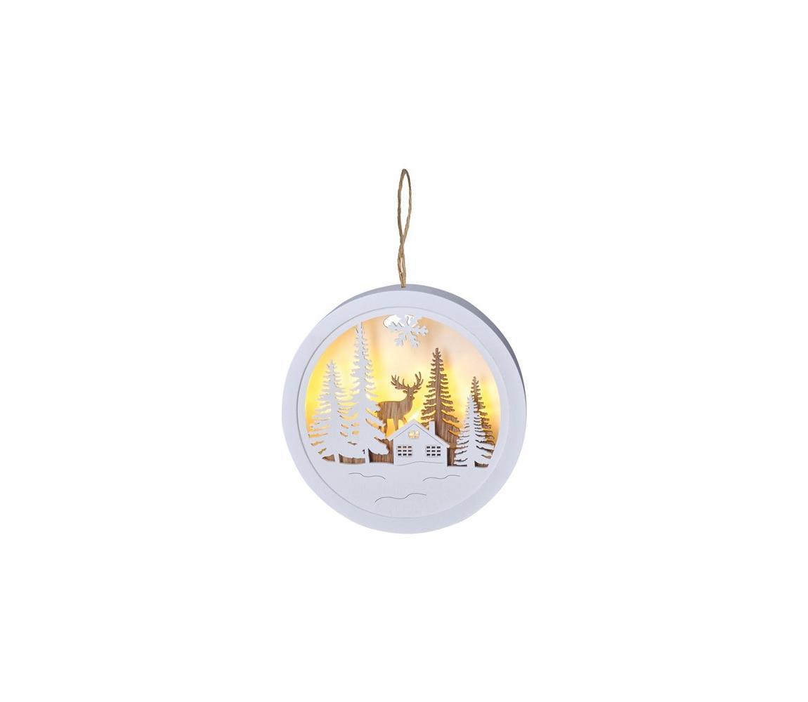 Solight Solight 1V223-A - LED Vánoční dekorace 1xLED/2xAAA SL0494