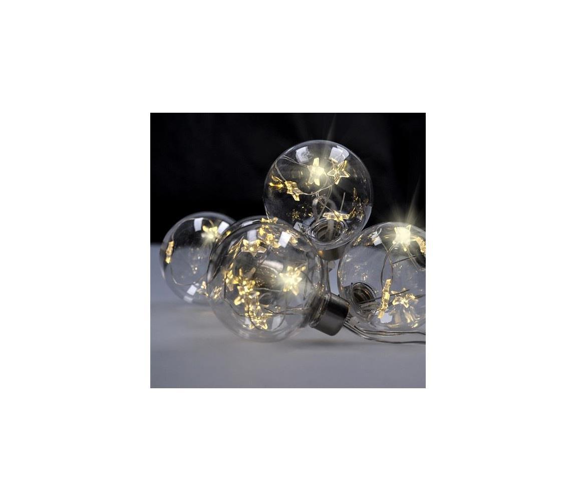 Solight Solight 1V229 - LED Vánoční řetěz 2,5 m 30xLED/3xAA SL0485