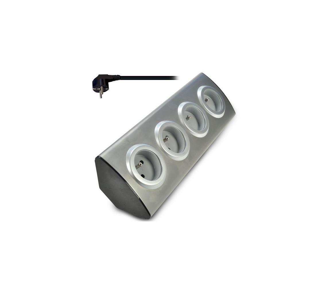 Solight Solight PP103 − Prodlužovací kabel 4z 10A/230V