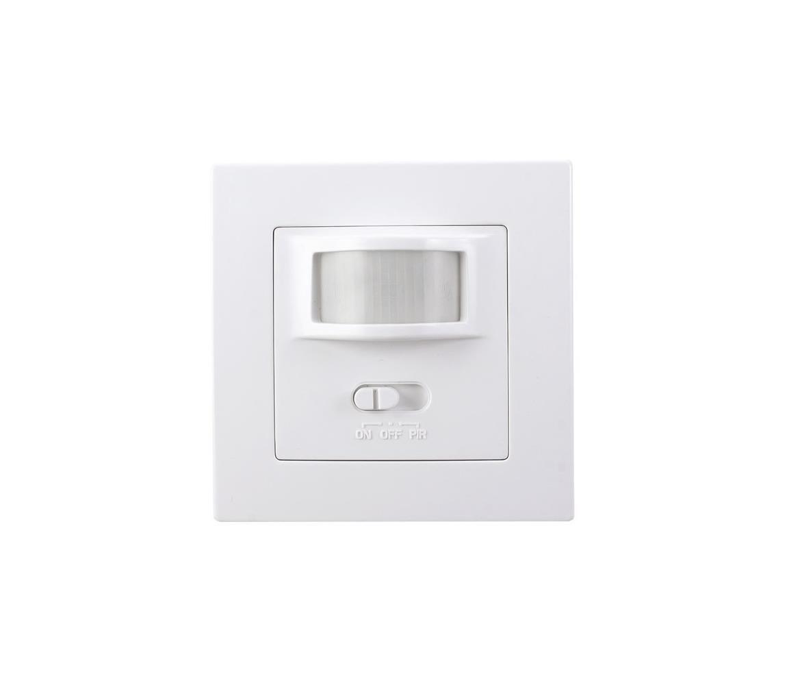 Solight Solight WPIR01 − Interiérový senzor pohybu PIR do krabičky od vypínačů bílá SL0797