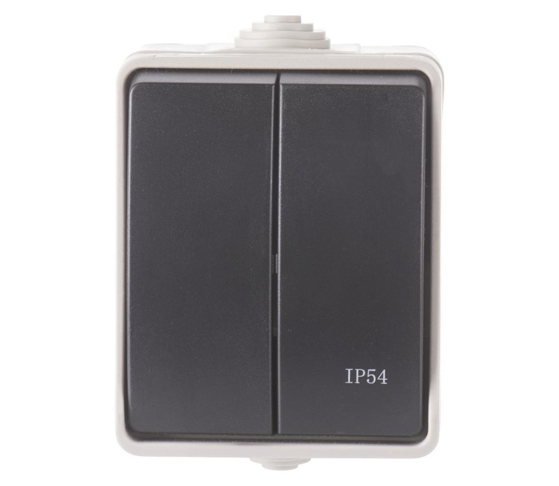 EMOS Spínač domovní sériový 250V/10A IP54